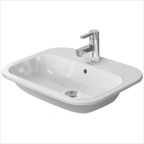 Duravit - Happy D.2 Vanity basin 600 x 460mm - 1 Tap Hole