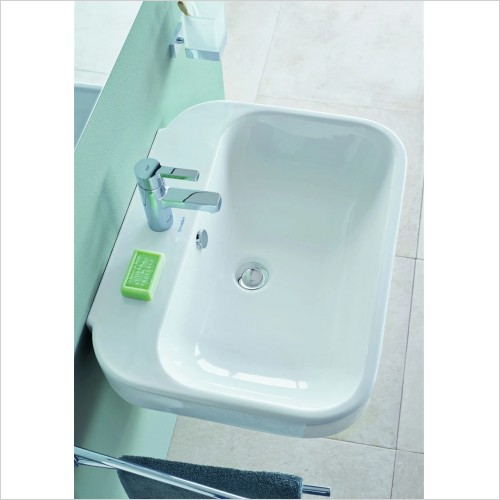 Duravit - Happy D.2 Washbasin 600 x 475mm