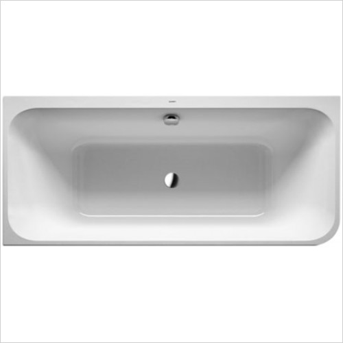 Duravit - Happy D.2 Corner Bath With Integrated Panel 1800 x 800mm