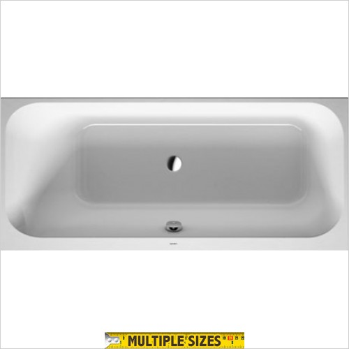Duravit - Happy D.2 Single Ended Bath - 1600 x 700mm - Left Hand