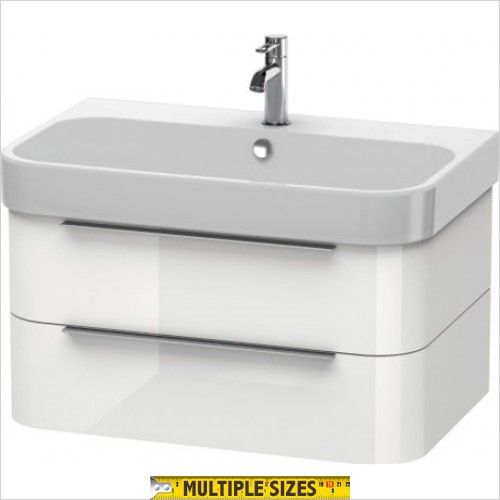 Duravit - Happy D.2 Vanity Unit With 2 Drawers For 800mm Basin