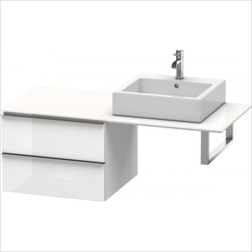 Duravit - Happy D.2 Low Cabinet For Console 440x600x550mm
