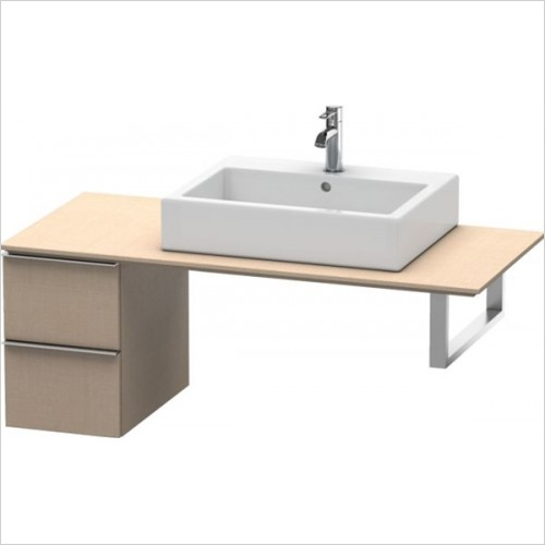 Duravit - Happy D.2 Low Cabinet For Console 440x300x480mm
