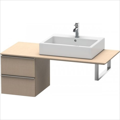 Duravit - Happy D.2 Low Cabinet For Console 440x400x480mm