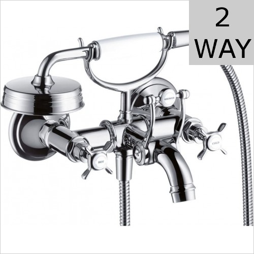 Hansgrohe - Axor Montreux Wall Mounted Bath Shower Mixer