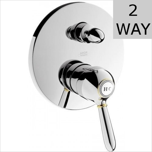 Hansgrohe - Axor Carlton Concealed Bath Shower Mixer