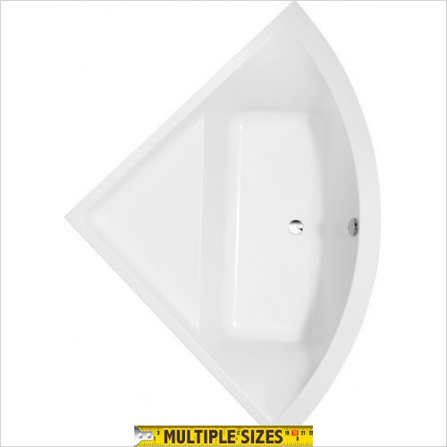 Villeroy & Boch - Subway Corner Bath - 1300 x 1300mm
