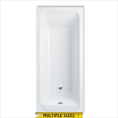 Villeroy & Boch - Architectura Single Ended Bath - 1400 x 700mm