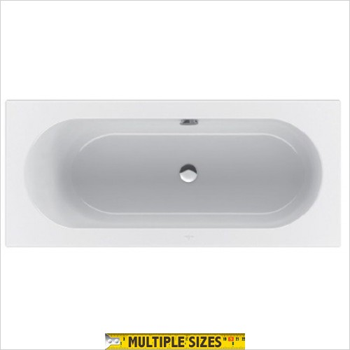 Villeroy & Boch - Loop & Friends Oval Bath 1600 x 700mm