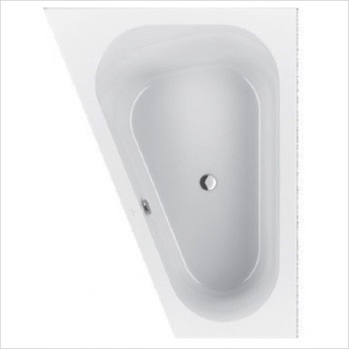 Villeroy & Boch - Loop & Friends Oval Offset Bath 1750 x 1350mm