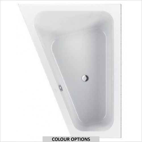 Villeroy & Boch - Loop & Friends Square Offset Bath 1750 x 1350mm