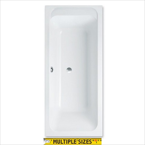Villeroy & Boch - Architectura Double Ended Bath - 1700 x 800mm