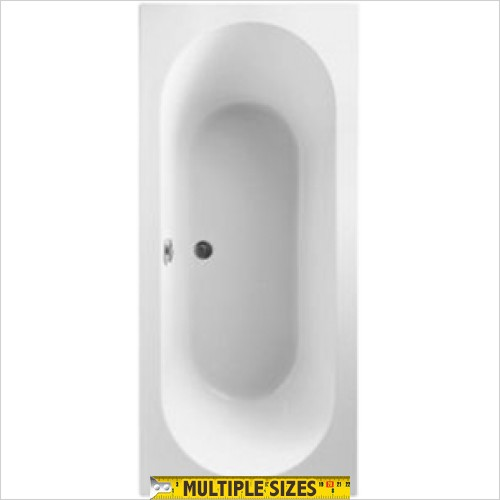 Villeroy & Boch - O.Novo Duo Rectangular Acrylic Bath 1800 x 800mm