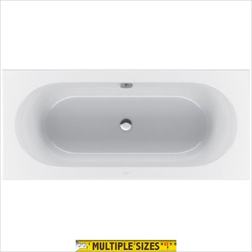Villeroy & Boch - Loop & Friends Oval Duo Bath 1800 x 800mm