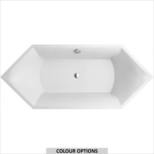 Villeroy & Boch - Squaro Hexagonal Quaryl Bath 1900 x 800mm