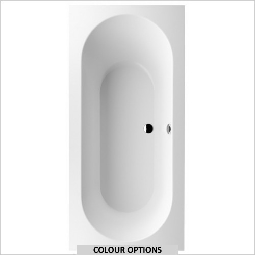 Villeroy & Boch - Oberon Double Ended Quaryl Bath 1900 x 900mm