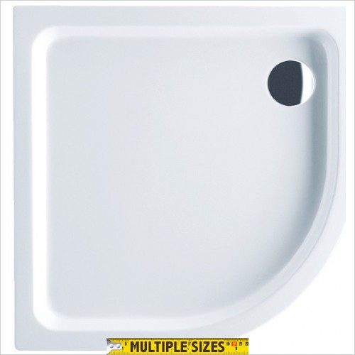 Villeroy & Boch - O.Novo Quadrant Acrylic Shower Tray - 900 x 900mm