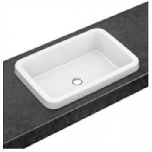 Villeroy & Boch - Architectura Square Built In Washbasin 615 x 415mm