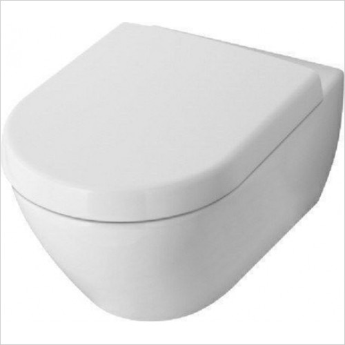 Villeroy & Boch - Subway 2.0 Wall-Mounted Toilet 370 x 560mm