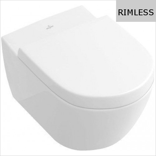 Villeroy & Boch - Subway 2.0 Wall-Mounted Toilet With DirectFlush 370 x 560mm