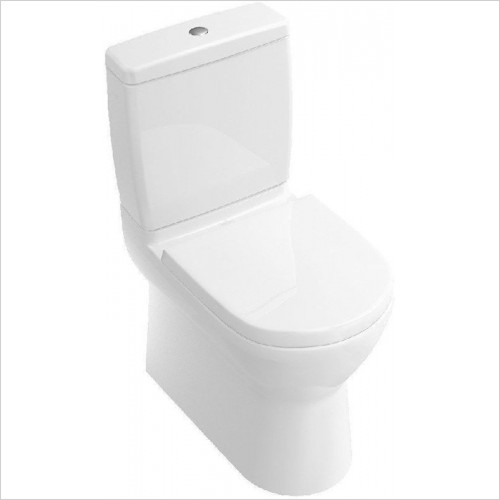Villeroy & Boch - O.Novo Close Coupled Back To Wall Toilet