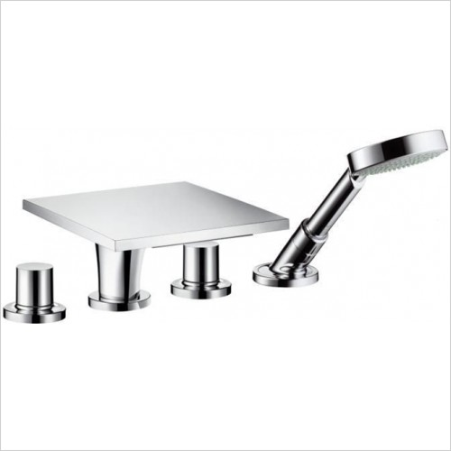 Hansgrohe - Axor Massaud 4 Hole Bath Shower Set For Bath Rim