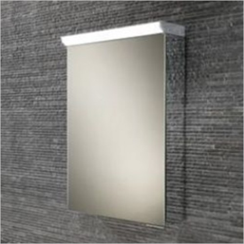 LED Aluminium Cabinets With Mirror Sides