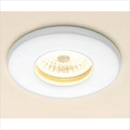 HIB - White Warm White Fire Rated LED Showerlight
