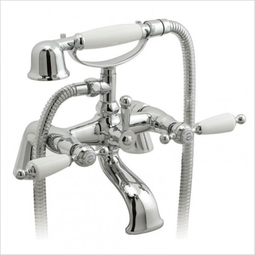 Vado - Kensington Deck Mounted Bath Shower Mixer With Shower Kit
