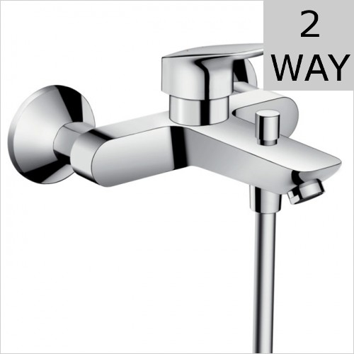 Hansgrohe - Logis Exposed Bath Shower Mixer