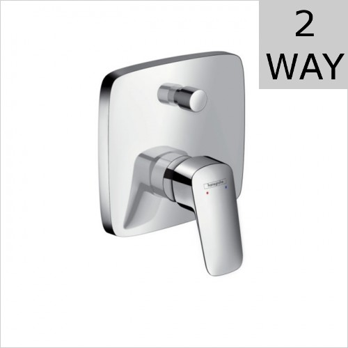 Hansgrohe - Logis Concealed Valve For 2 Outlets