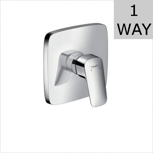 Hansgrohe - Logis Concealed Valve For 1 Outlet