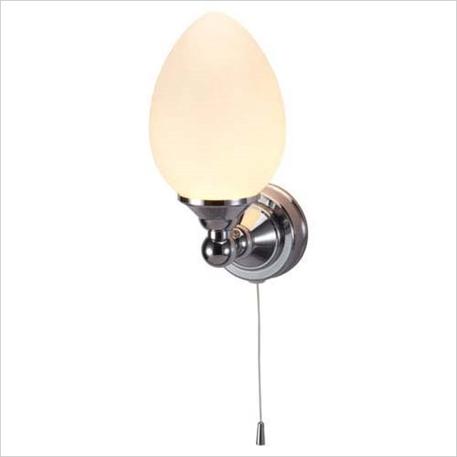 Burlington - Single Light Eliptical Globe