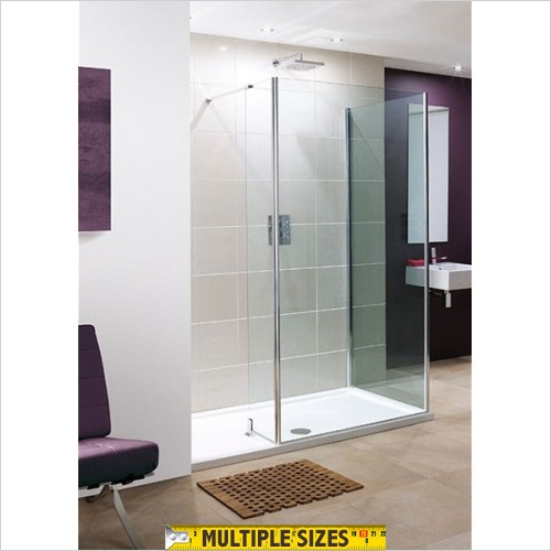 Lakes Bathrooms - Andora L Shaped Walk In For Corner