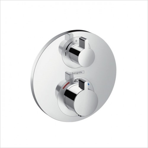 Hansgrohe - Ecostat S Concealed Thermostatic Valve With Diverter