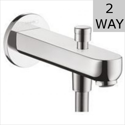 Hansgrohe - Metris S Tub Spout 152mm With Diverter