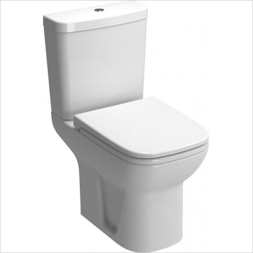 Vitra - S20 Close Coupled Shrouded Open Back Toilet