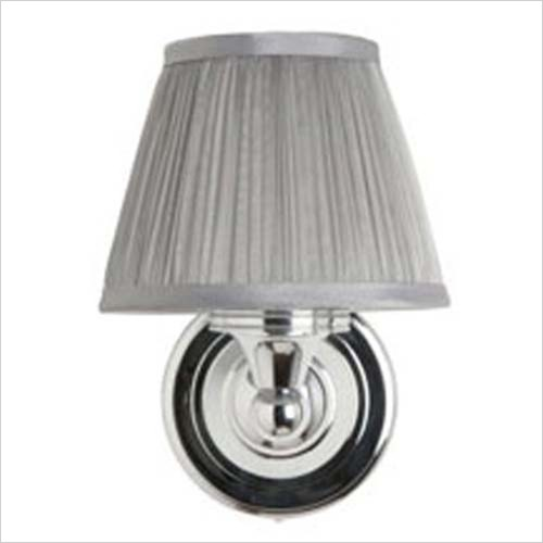 Burlington - Round Base Light, Pleated Shade (Rated IP44 Zone 2 & 3)