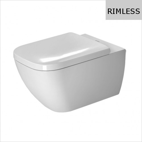 Duravit - Happy D.2 Toilet Wall Mounted Rimless