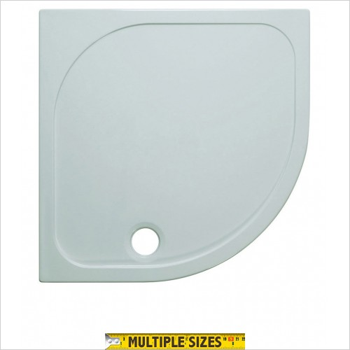 Crosswater - 45mm Stone Resin Quadrant Tray 800 x 800mm