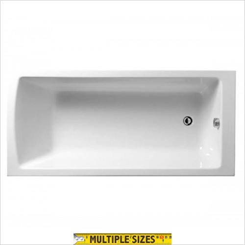 Vitra - Neon Single Ended Bath - 1500 x 700mm