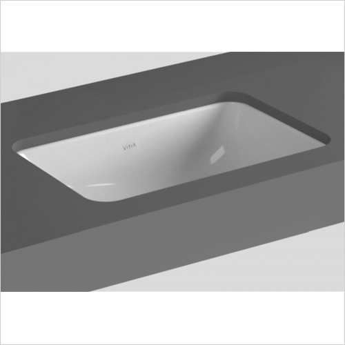 Vitra - S20 Rectangular Undercounter Basin 380 x 300mm