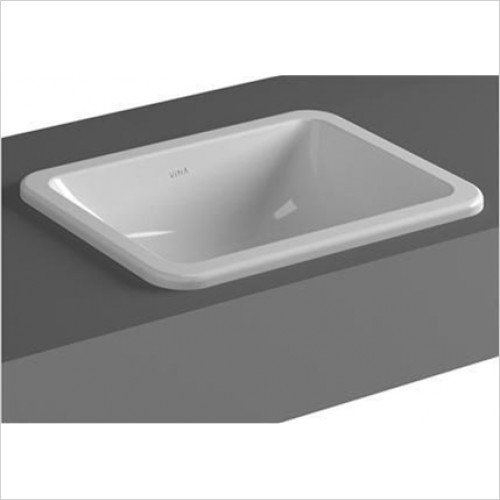 Vitra - S20 Rectangular Countertop Basin 450 x 370mm