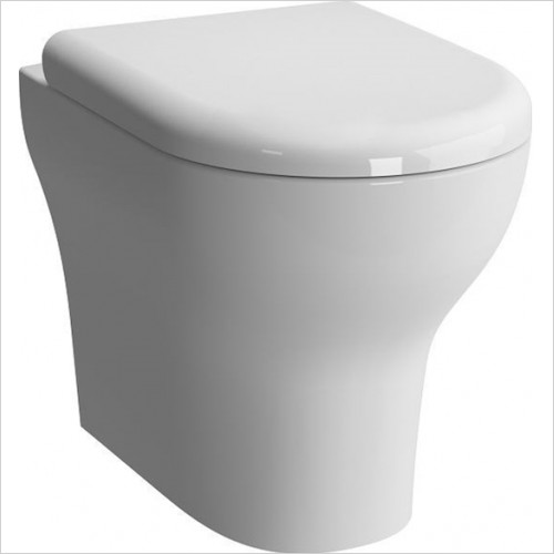 Vitra - Zentrum Back To Wall WC