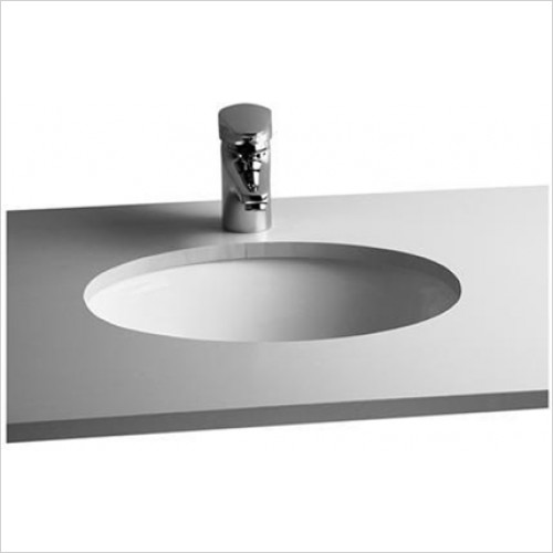 Vitra - S20 Oval Undercounter Basin 420 x 325mm