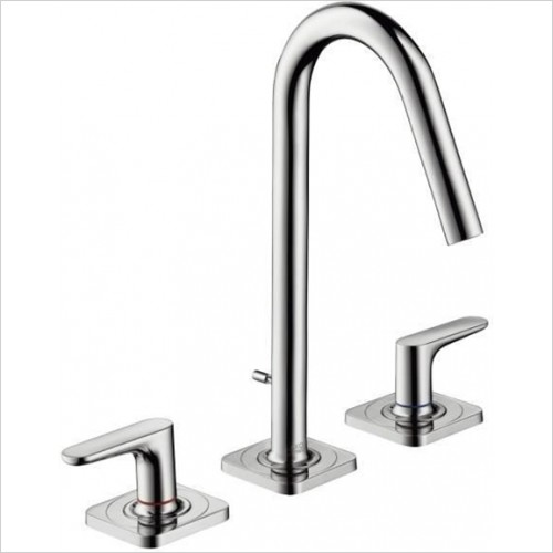 Hansgrohe - Axor Citterio M 3 Hole Basin Mixer Without Plate