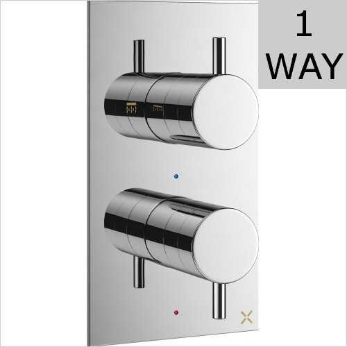 Crosswater - MPRO Thermostatic Shower Valve