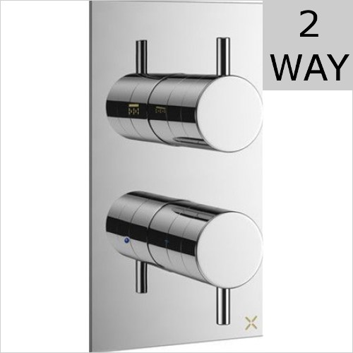 Crosswater - MPro Thermostatic Shower Valve With 2 Way Diverter