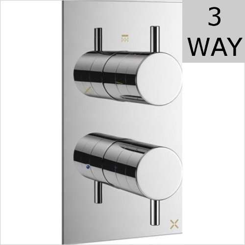 Crosswater - MPRO 3 Way Thermostatic Valve Portrait