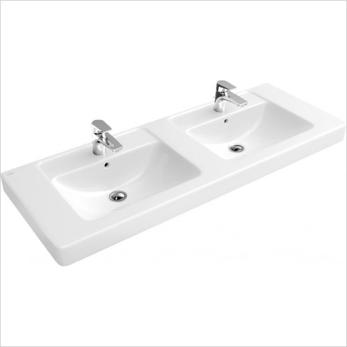 Villeroy & Boch - Soho Double Vanity Basin 1300 x 485mm